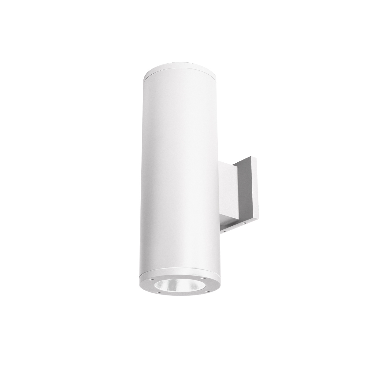 Away from Wall 2700K WAC Lighting DS-WD05-F27A-BK 5-Inch Double Side Tube Arch Wall Mount